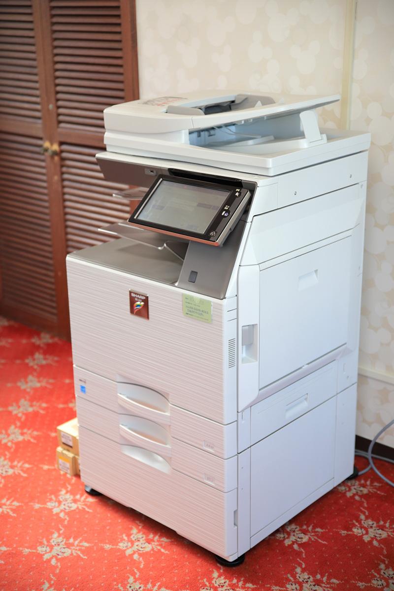 共用設備、コピー機
