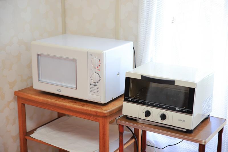 共用設備、レンジトースター